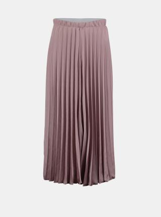 Růžová plisovaná midi sukně Hailys dámské XS
