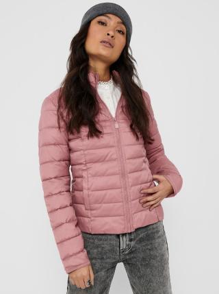 Růžová prošívaná bunda ONLY Tahoe dámské S