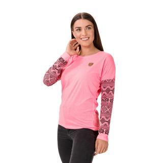 Růžové dámské tričko SAM 73 dámské růžová XXL
