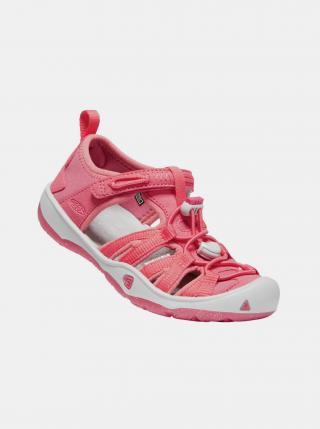 Růžové holčičí sandály Keen růžová 24
