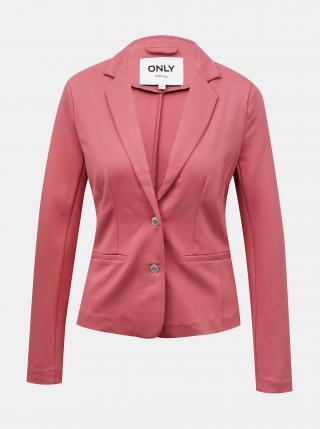 Růžové sako ONLY dámské růžová L