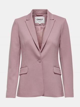 Růžové sako ONLY Pinko dámské růžová XS