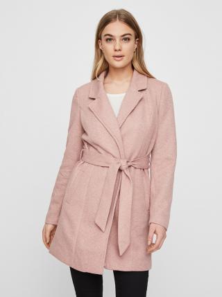 Růžový lehký kabát VERO MODA Rodona dámské růžová M