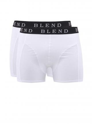 Sada dvou bílých boxerek Blend pánské bílá S