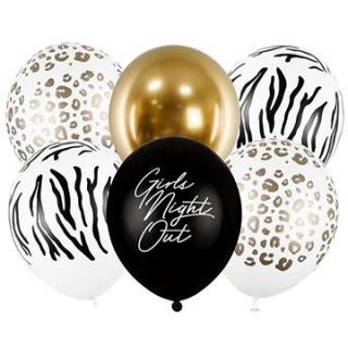 Sada latexových balónků girls night out - rozlučka se svobodou - 30 cm - 6 ks