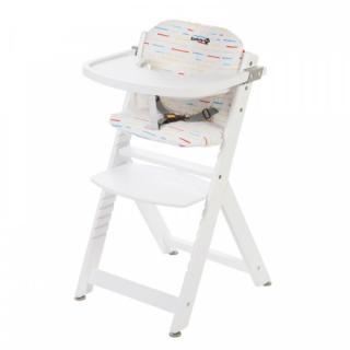 SAFETY 1ST Polstrování na jídelní židličku Timba Red Lines bílá