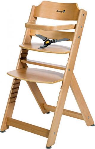 SAFETY 1ST Stolička Timba - dřevěná béžová
