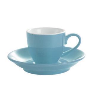 Šálek na espresso Kaffia 80ml - nebesky modrá