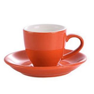 Šálek na espresso Kaffia 80ml - oranžová