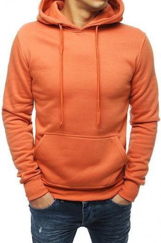 Salmon mens hooded sweatshirt BX4245 pánské Neurčeno XXL