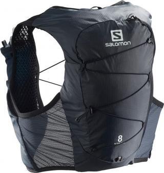 Salomon Active Skin 8 Set Ebony XL pánské Black XL