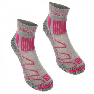 Salomon Merino Low 2 Pack Ladies Walking Socks dámské Other S