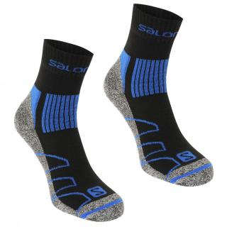 Salomon Merino Low 2 Pack Walking Socks Mens pánské Other M 5.5-7