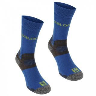 Salomon Midweight 2 Pack Mens Walking Socks pánské Navy | Blue | Other M 5.5-7