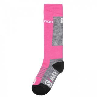 Salomon S Max 2 Pack Ski Socks Junior Girls dámské Other 27/30