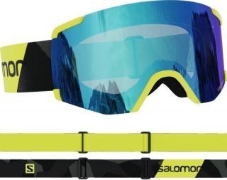 Salomon S/View Neon Yellow/Mid Blue 20/21 pánské S/M