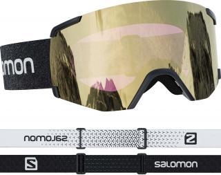 Salomon S/View Sigma - černá/zlatá 20/21