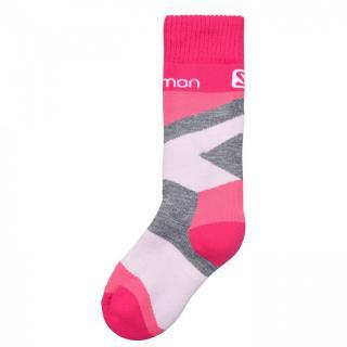 Salomon Team 2 Pack Ski Socks Junior Girls dámské Other 27/30