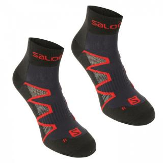 Salomon XA Pro Running 2 Pack Socks Mens pánské Other | Blue L