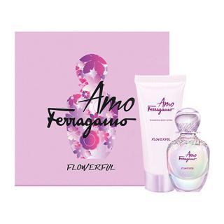 Salvatore Ferragamo Amo Ferragamo Flowerful - EDT 50 ml   tělové mléko 100 ml dámské
