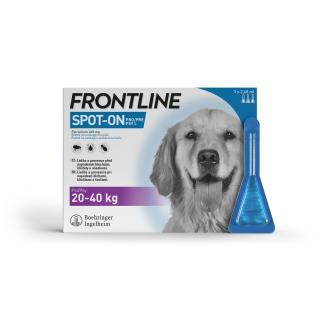Samohýl Frontline Spot-on Dog L 3 x 2,68 ml