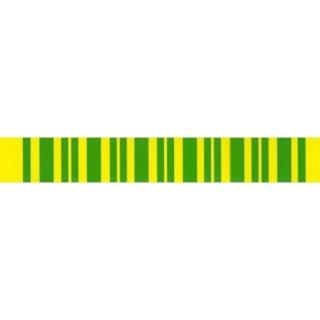 Samolepka barevný pásek  uzemnění 18x115mm