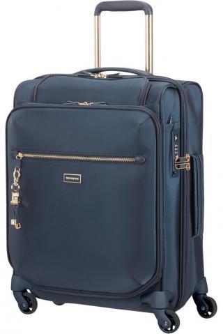 Samsonite Kabinový cestovní kufr Karissa Biz 40,5 l - tmavě modrá
