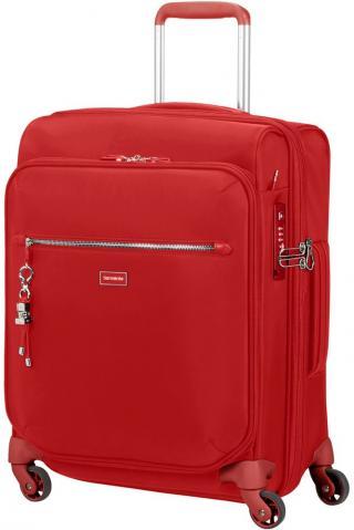 Samsonite Kabinový cestovní kufr Karissa Biz EXP 47/50,5 l - červená