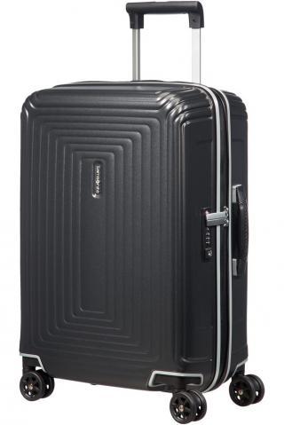 Samsonite Kabinový cestovní kufr Neopulse DLX 44 l - titan matná matná černá