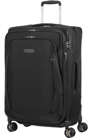 Samsonite Látkový cestovní kufr XBlade 4.0 EXP 88/95 l - černá