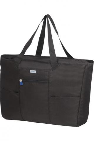 Samsonite Skládací nákupní taška - černá