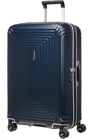 Samsonite Skořepinový cestovní kufr Neopulse DLX 74 l - Temně modrá matná matná modrá