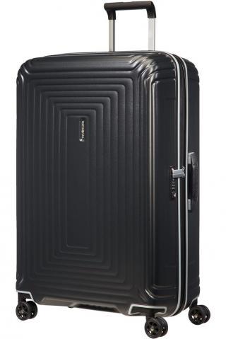 Samsonite Skořepinový cestovní kufr Neopulse DLX 94 l - matná titan matná černá