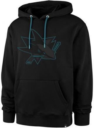 San Jose Sharks Helix Colour Pop Pullover Black XL XL