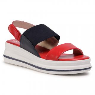 Sandály BETSY - 807365/05-01E Red/Navy dámské Tmavomodrá 36