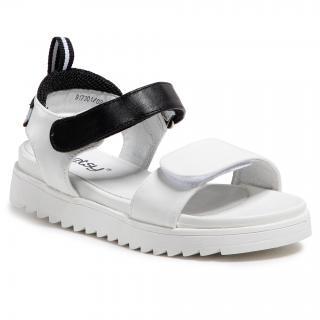 Sandály BETSY - 917301/02-01 White/Black dámské Bílá 30