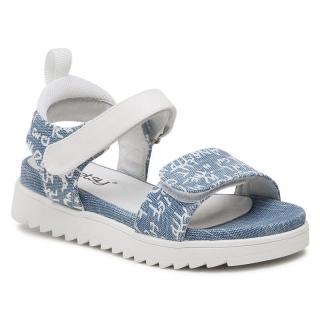 Sandály BETSY - 917301/02-04  Blue/White dámské Modrá 30