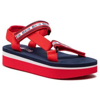 Sandály BIG STAR - HH274A102 Red dámské Červená 37