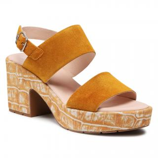 Sandály CALLAGHAN - Pesca 28801 Mostaza dámské Oranžová 41