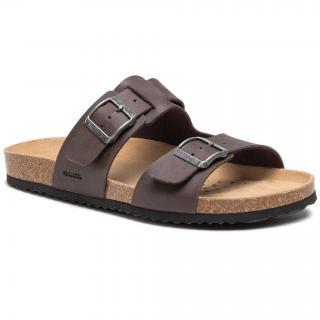 Sandály GEOX - U Sandal Ghita B U159VB 000EK C6024 Dk Cofee pánské Hnědá 40