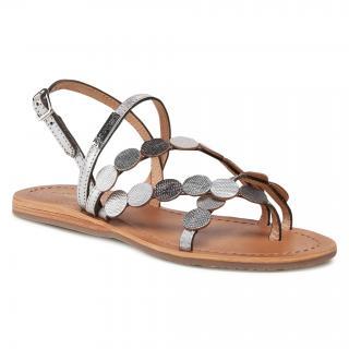 Sandály LES TROPEZIENNES - Holo C27162 Silver/Multi dámské Stříbrná 36