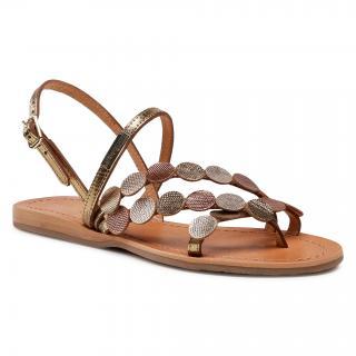 Sandály LES TROPEZIENNES - Holo C27163 Bronze Multi dámské Zlatá 36