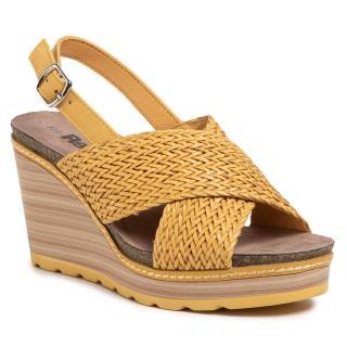 Sandály REFRESH - 69489 Yellow dámské Žlutá 38