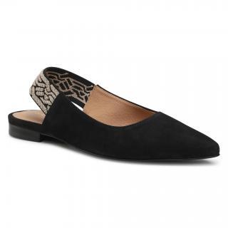 Sandály WOJAS - 44015-61 Černá dámské 37