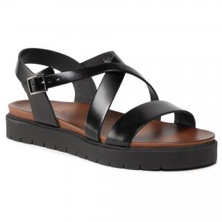 Sandály WOJAS - 76014-51 Czarny dámské Černá 38