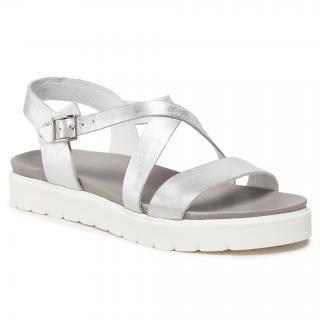 Sandály WOJAS - 76014-59 Silver dámské Stříbrná 36