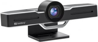 Sandberg ConfCam EPTZ Webkamera Černá Black