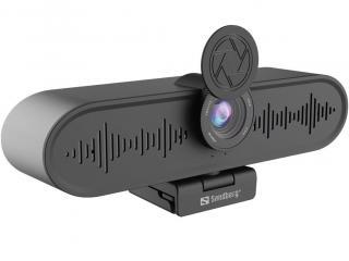 Sandberg ConfCam Webkamera Černá Black