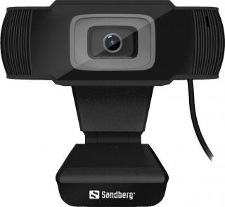 Sandberg Saver Webkamera Černá Black