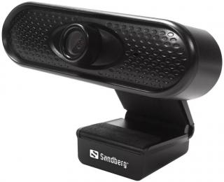 Sandberg USB 1080 HD Webkamera Černá Black